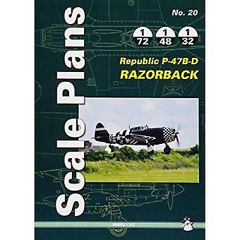 Scale Plans No. 20: Republic P-47B-D Razorback