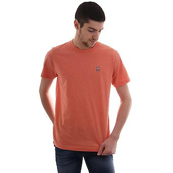 Psycho Bunny Basic Cn T Shirt With Chest Logo Gingers