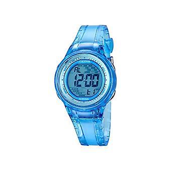 Calypso K5688/1-Damen-Armbanduhr, Kunststoff, Farbe: blau