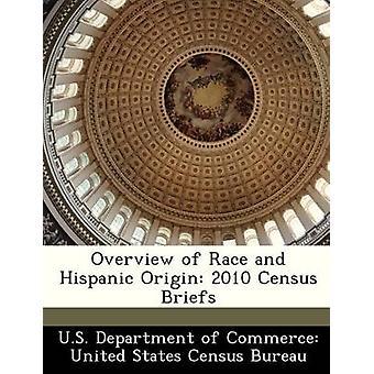 Overzicht van RAS en Spaanse oorsprong 2010 volkstelling slips door Amerikaanse Department of Commerce Verenigde Stat