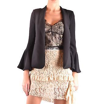 Aniye By Ezbc098010 Women's Black Nylon Blazer