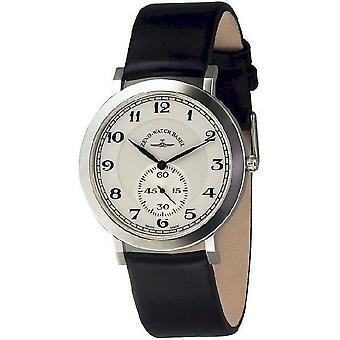 Zeno-horloge mens watch flatline flat 2 quartz 6703Q-i3-num
