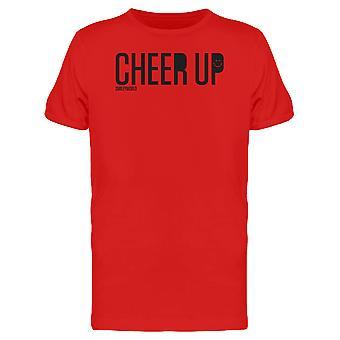 SmileyWorld Happy Cheer Up Motivational Graphic Men's T-shirt