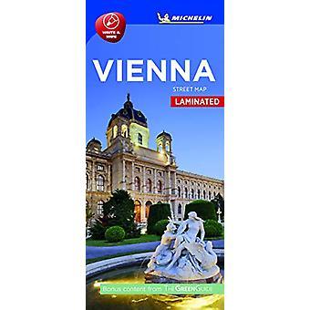 Vienna- Michelin City Map Laminated 9216 - Laminated City Plan by Vien