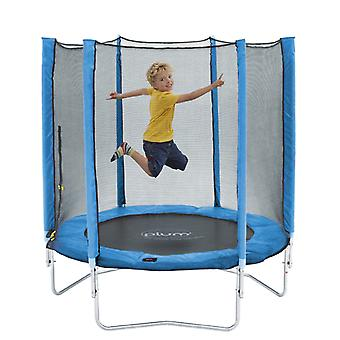 Plomme 6ft Trampoline og Enclosure blå