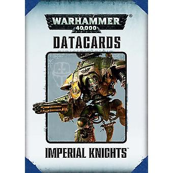 Jogos Workshop-Warhammer 40.000-datacards: Imperial Knights