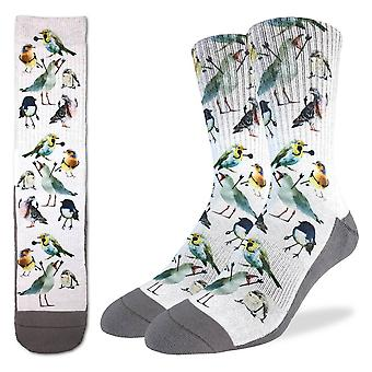 Socks - Good Luck Sock - Men's Active Fit - Birds (8-13) 4125