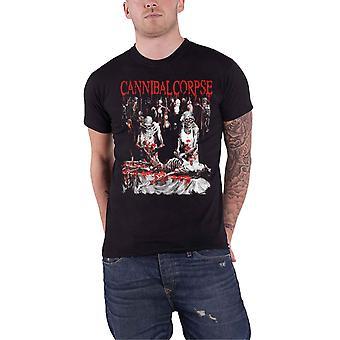 Cannibal Corpse T Shirt Butchered At Birth 2019 Band Logo Official Mens Black
