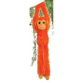 Aurora monde 19 pouces suspendus colorés Chimp (Orange vif)