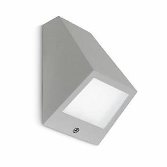 LED Outdoor piccola parete grigio chiaro IP54