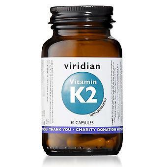 كبسولات فيتامين K2 فيريديان 30 (258)