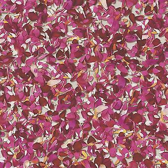 Rasch Barbara Becker roze bloem bloemblaadjes patroon behang Floral getextureerde 476002