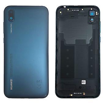 Huawei Battery Cover Cover Blue pour Y5 2019 97070WGH Réparation Nouveau