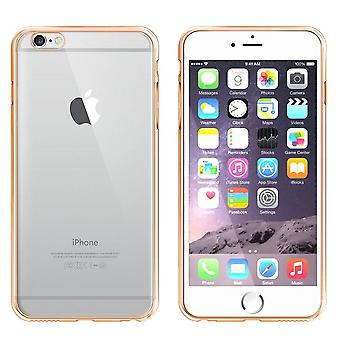 iPhone 5 and 5S and SE Case Gold - Bumper Backcover Clear