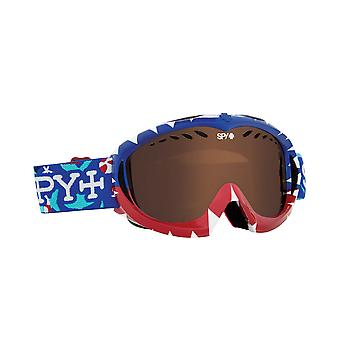 Spy Optic 310775654069 Targa Snow Ski Goggles Mini Party Sharks Bronze