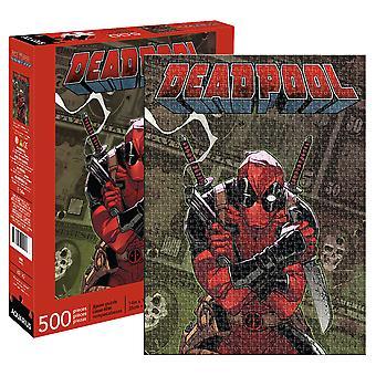 Deadpool Comic Cover 500 Stück Puzzle