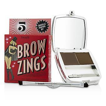 Benefit Brow Zings (total doaming & Kit de modelagem para sobrancelhas) - #5 (profundo) - 4.35g/0.15oz