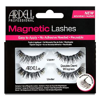 Ardell Magentic Strip Lash Doppio Demi Wispies Per le donne