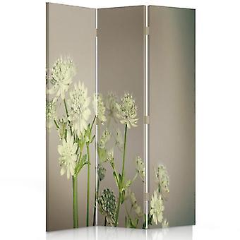 Raumteiler, 3 Panels, Doppelseitig, Drehbar 360, Leinwand, Klee