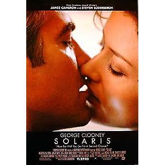 Poster original do cinema do Solaris (dobro tomado o partido regular)