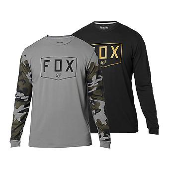 Fox Mens Shield Long Sleeve Tech Tee