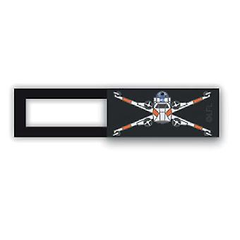Webcam cover/slider-License™-Star Wars Q15-Black