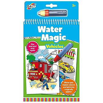 Galt - Water Magic - Vehicles - Re-usable Colouring Book