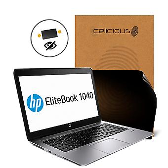 Celicious Privacy 2-Way Anti-Spy Filter Screen Protector Film Compatible with HP Elitebook Folio 1040 G2 (Non-Touch)