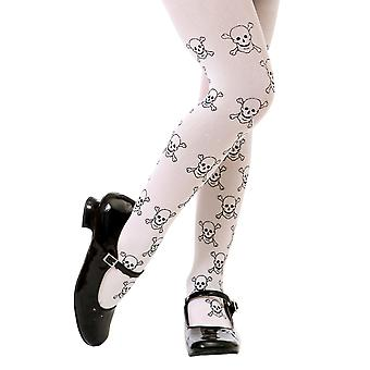 Skull Costume Tights, L
