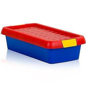 Wham Storage 800ml Wham Clip Plastic Box With Lid 7.01