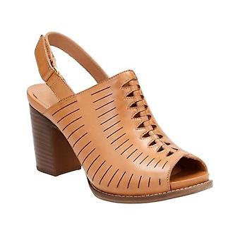 Clark sandali donna Briatta chiave Peep Toe Casual Slingback Sandals