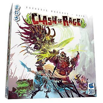 Clash of Rage Board Game