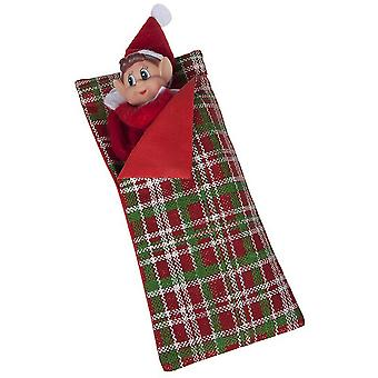 Christmas Shop Patterned Elf Sleeping Bag Accessory