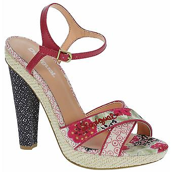 Desigual Women's Floral Tacon Alto Silvi 2 High Heeled Sandals UK 7 41