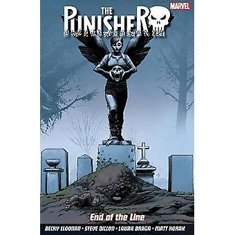The Punisher Vol. 2 End Of The Line by Becky Cloonan & Illustrated by Steve Dillon & Illustrated by Laura Braga