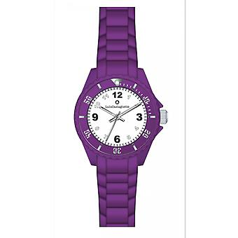Shows Lulu Castanet 38869 watches - watch Silicone Violet girl