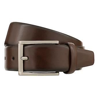 MONTI LONDON Belt Men's Belt Leather Belt Brown 8487
