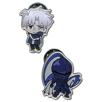 Pin Set - Fate/Zero - New Berserker & Kariya (Set of 2) Licensed ge50013