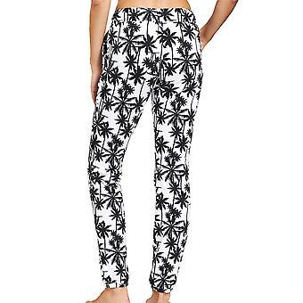 R'sch 1202003-16071 Women-apos;s Be Happy White Palm Beach Pyjama Pantalon