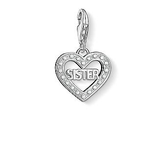 Thomas Sabo Sister Heart Charm 1266