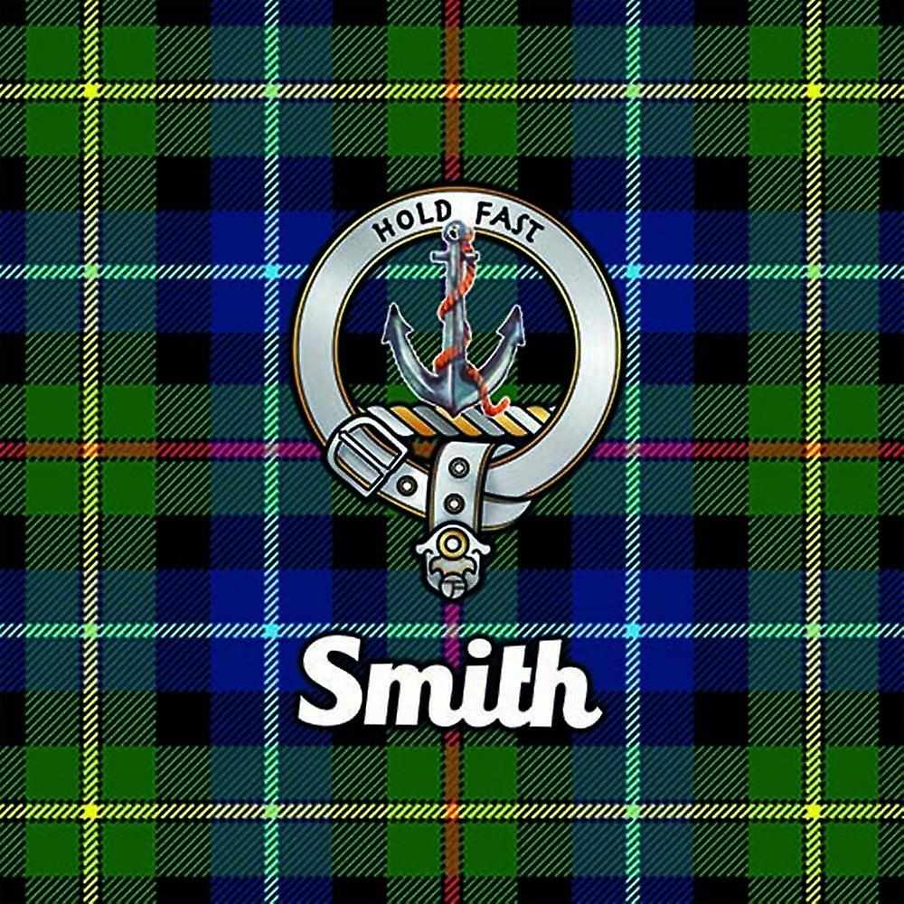 Art2Glass Tartan Clan Coaster - Smith