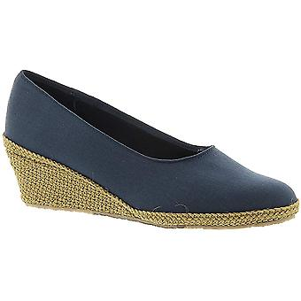 Beacon Shoes Women's Newport,Navy Canvas,US