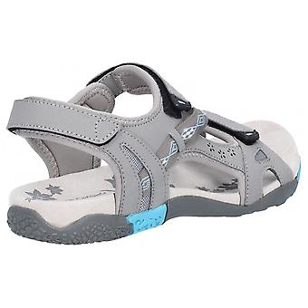 Cotswold Whichford Touch Fasten Sandal Grey / Hellblau