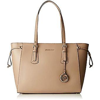 مايكل كورس فوياجر - حقائب حمل المرأة الرمادية (الكمأة) 18x10x28 سم (W x H x L)