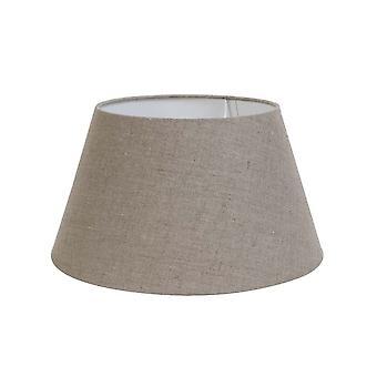 Svetlo & obývacia guľatý odtieň 40x30x22cm tmavá bielizeň