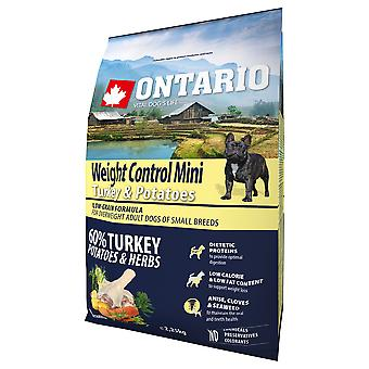 Ontario Mini Weight Control Turkey And Potatoes (Dogs , Dog Food , Dry Food)
