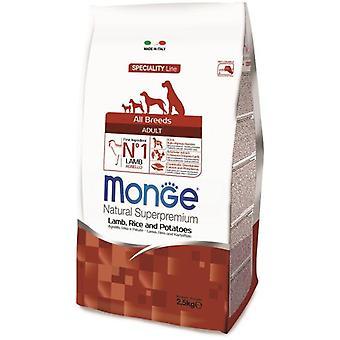 Monge Ns Adult  Lamb, Rice And Potato (Dogs , Dog Food , Dry Food)