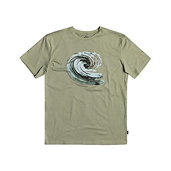 Quiksilver Still Waters Short Sleeve T-Shirt in Seagrass