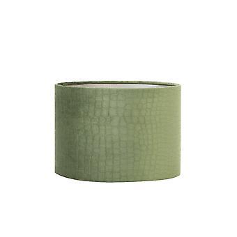 Light & Living Cylinder Shade 40x40x30cm Bongo Green