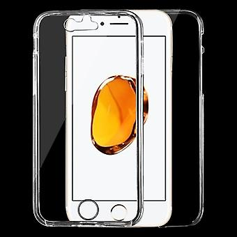 For iPhone SE(2020), 8 & 7  Case,Stylish Double-Sided Ultra-Thin Transparent Protective Cover